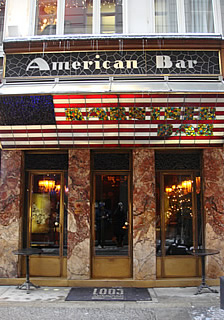 The American Bar in Vienna