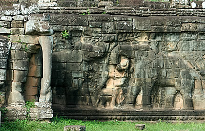 Angkor Thom: Terrace of the Elephants