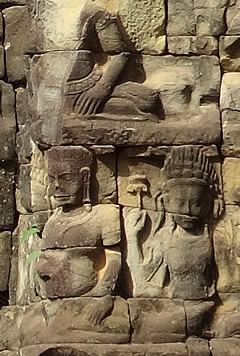 Angkor Thom: Terrace of the Leper King