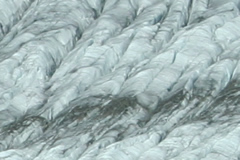 Close-up of the glacier, August 2008