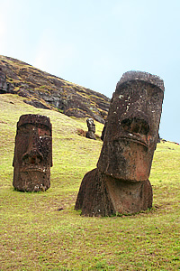Easter Island: the quarry