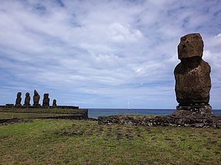 Easter Island: Ahus Vai Ure and Tahai