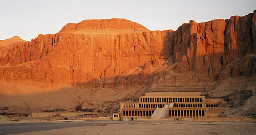 The mortuary Temple of Queen HAtshepsut