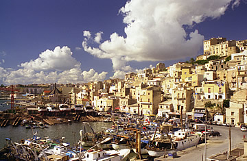 The port at Sciacca