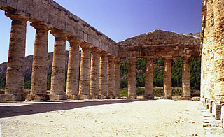 The Temple at Segesta