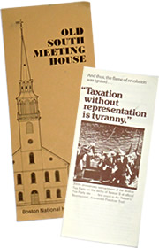 Boston leaflets