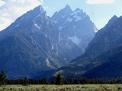 Grand Teton NP Cathedral Group