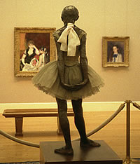 Edward Degas: Little Dancer aged fourteen