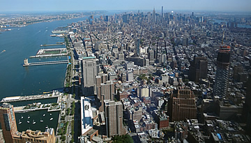 North Manhattan from the Freedom Tower 2015