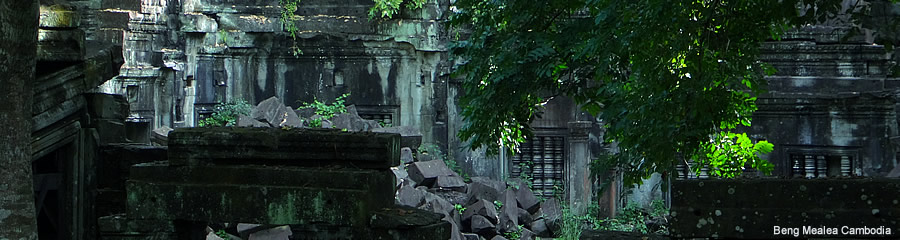 The Silk Route - World Travel: Beng Mealea, Cambodia