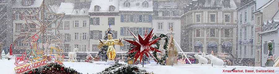 Switzerland:  Basel Xmas Market