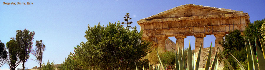 The Silk Route - World Travel: Segesta, Sicily, Italy